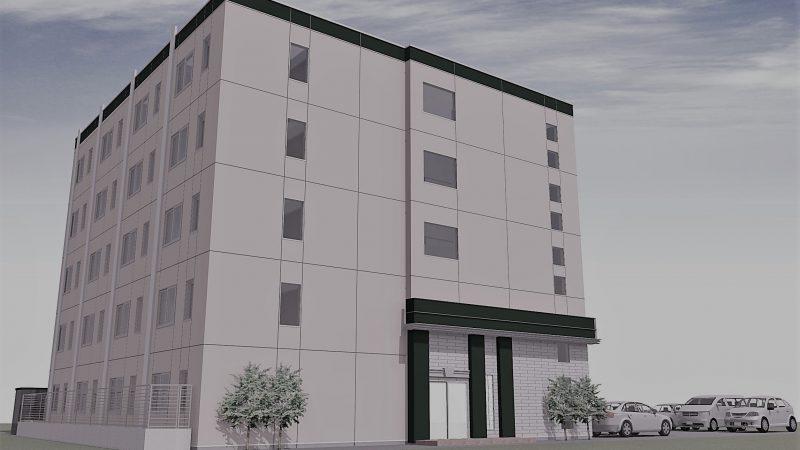 【新着・新築】7月から札幌市北11条にて「学生マンション」の建設をしております(N開発様)